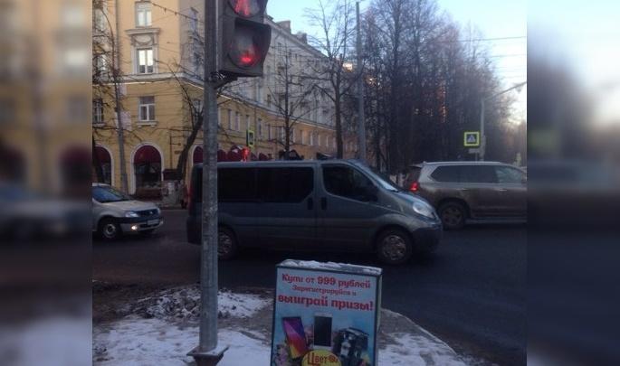 Ничего не поняли: ярославцы в шоке от полностью пешеходного перекрёстка
