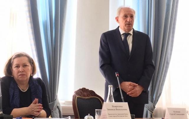 Бывший вице-мэр Сергей Кузнецов стал председателем Общественной палаты Ростова