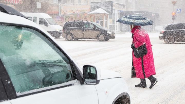 Зимняя погода задержится в Волгограде до завтрашнего дня