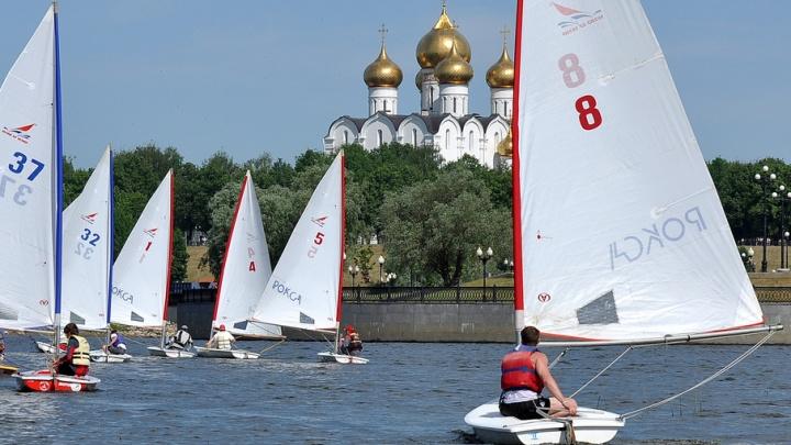 В честь 25-летия ФОРА-БАНКА в Ярославле пройдет парад парусных яхт и парусная регата