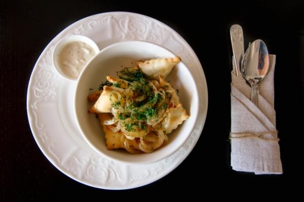 Фирменное блюдо трактира-ресторана «Похлебкинъ»