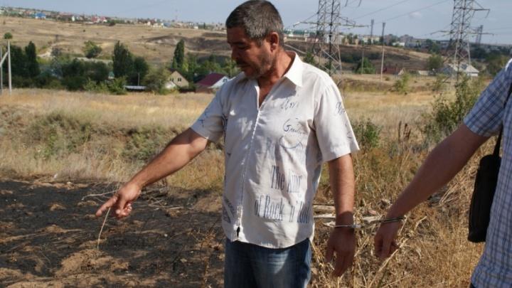 В Городищенском районе из-за поджога травы пьяным строителем произошел крупный пожар
