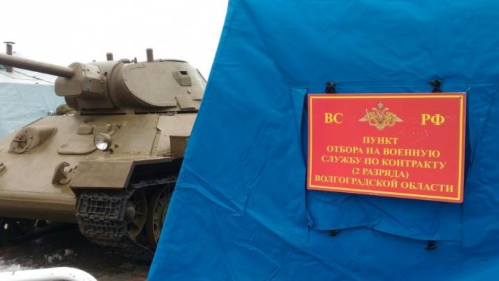 У музея-панорамы «Сталинградская битва» в Волгограде стартовала патриотическая акция