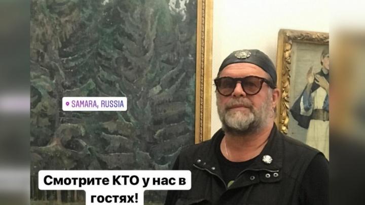 «Узнали?»: Борис Гребенщиков заглянул в художественный музей в Самаре