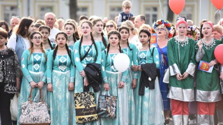 Парад дружбы и поющая набережная: как праздновал День России Ярославль