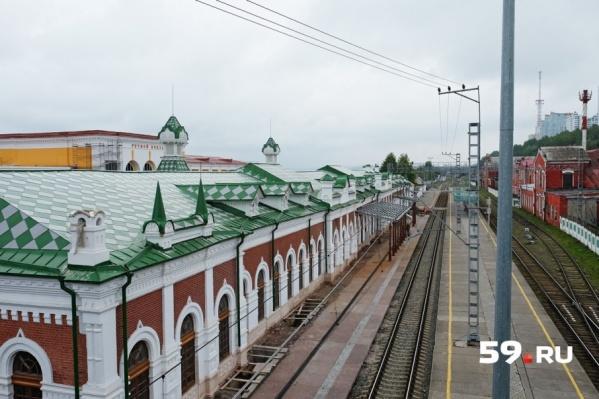 В 2019 году Пермь I станет конечной остановкой для пригородных электричек