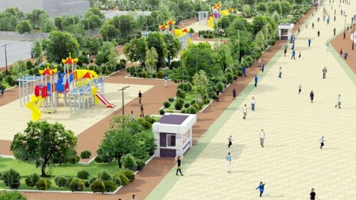 Парк на левом берегу Дона возле «Ростов Арены» откроют 1 мая