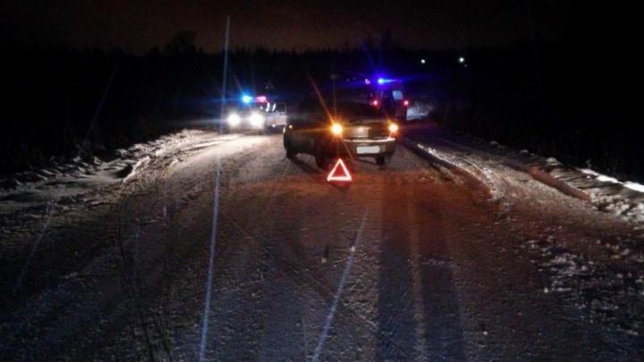 В Котласе водитель «Шевроле» сбил пьяного пешехода
