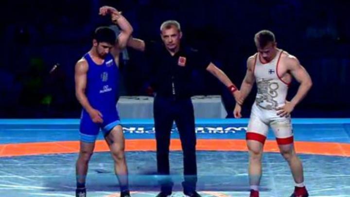Дончанин Мяхди Яхьяев завоевал бронзу первенства мира по греко-римской борьбе