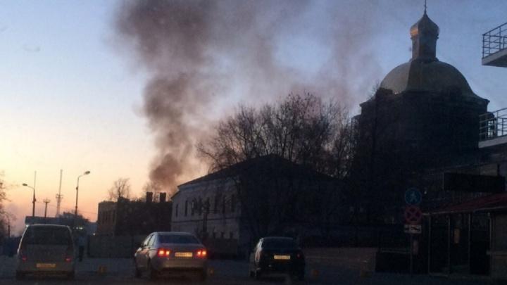 При пожаре на Комсомольском проспекте в Перми погибли два человека