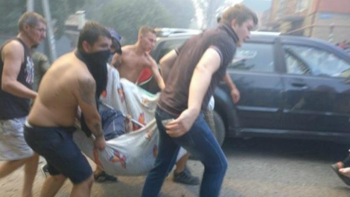 На месте пожара в Ростове прогремело несколько мощных взрывов