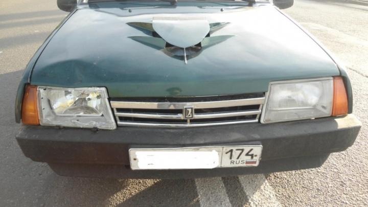 В Магнитогорске автомобилистка сбила пешехода-нарушителя