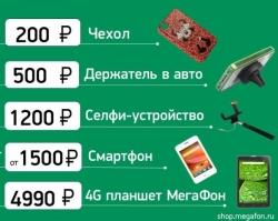 «МегаФон» составил рейтинг небанальных мобильных подарков