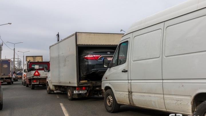 В Самаре откроют движение транспорта на повороте в поселок Красная Глинка
