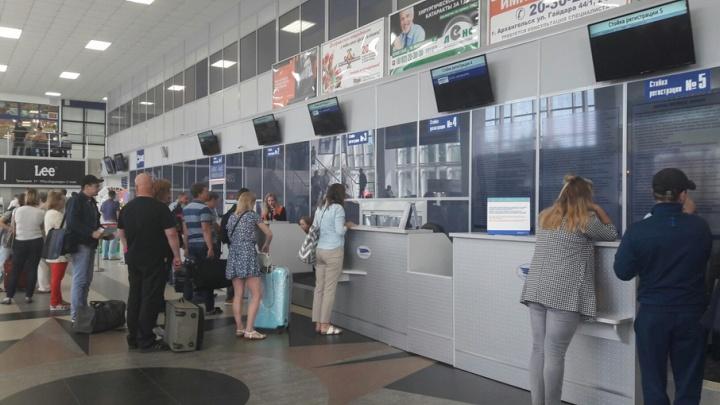 «Нордавиа» задержала утренний рейс из Архангельска в Петербург на несколько часов