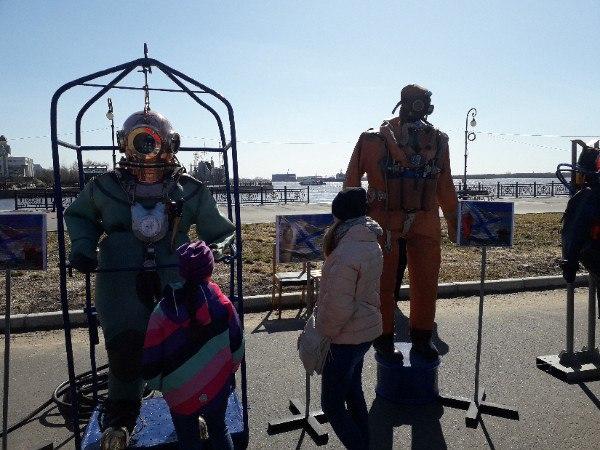 Выставка на Красной пристани