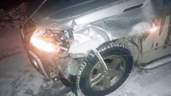 Под Самарой водитель Suzuki сбил насмерть пешехода на трассе