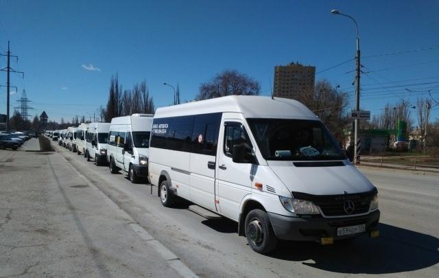 В Волгограде устроят облавы на незаконно работающие маршрутки