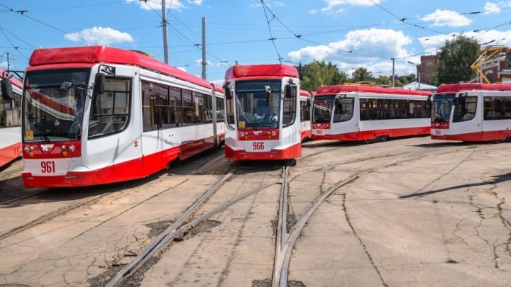 К 2018 году маршруты трамваев от ж.-д. вокзала продлят до стадиона «Самара-Арена»