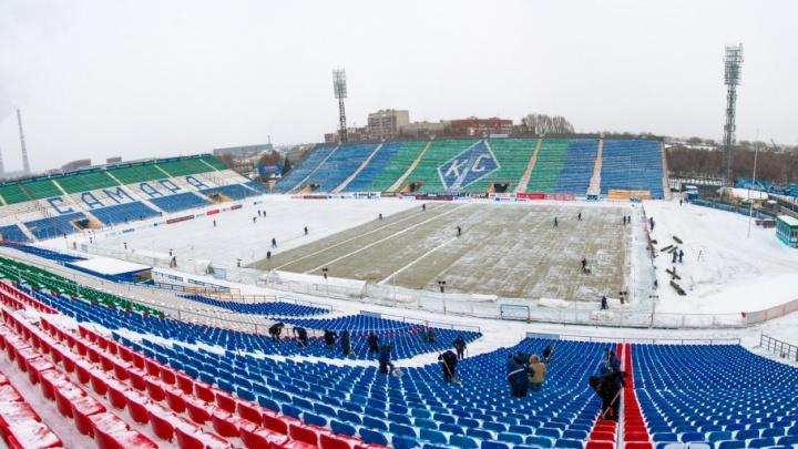 Матч «Крылья Советов» — «Спартак» оказался под угрозой отмены из-за морозов