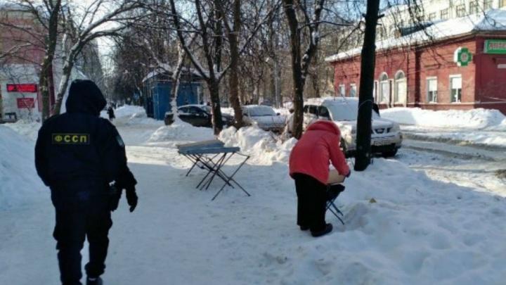 Приставы в Ярославской области продадут арестованные носки