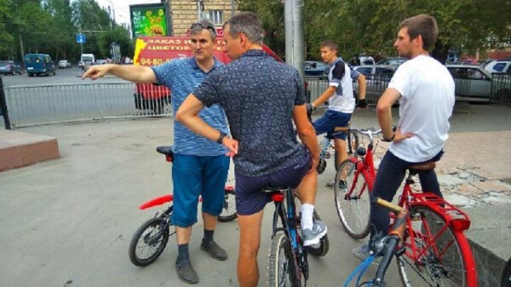 Вице-мэра Волгограда прокатят на велосипеде по задворкам Краснооктябрьского района