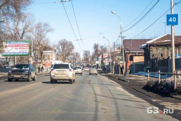 Основной ход улицы Главной также реконструируют