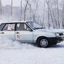 Вождение на льду по-русски