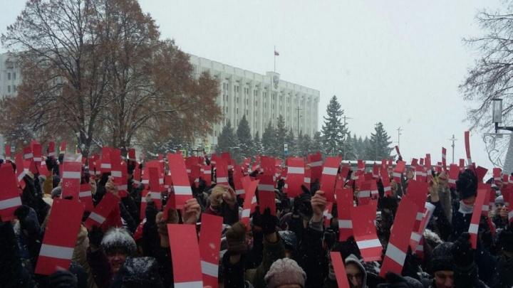 Самарские сторонники Навального выдвинули оппозиционера в президенты РФ