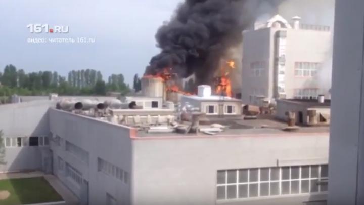 Донской следком выяснит причины пожара на заводе, где погиб рабочий