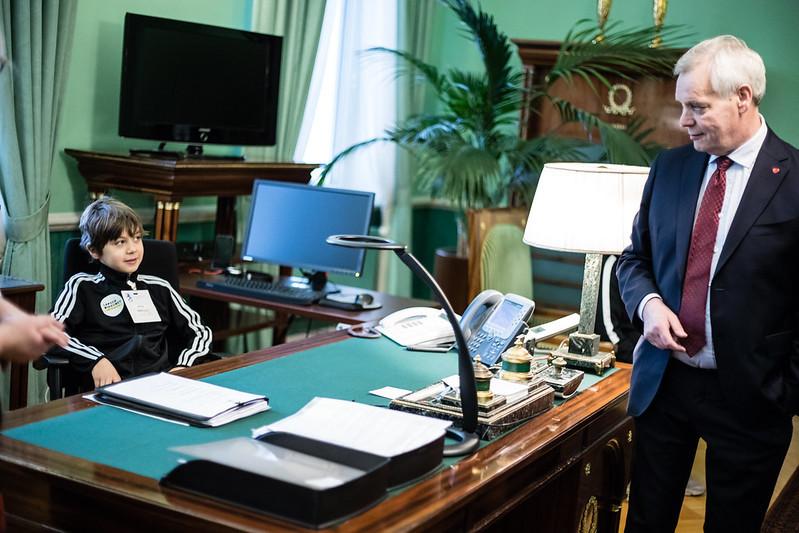 премьер-министр Антти Ринне