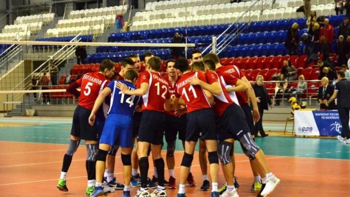 Волейбольный клуб «Прикамье» прекратил выступление в чемпионате страны из-за нехватки денег