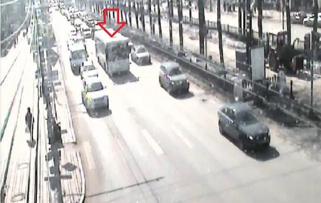 В центре Перми из-за сломанного автобуса образовалась пробка