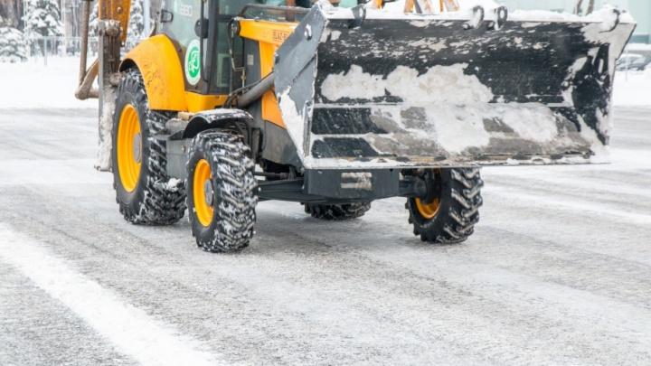 В Самаре снежные полигоны готовят к экстремальным осадкам и температурам