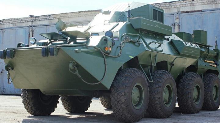 В Самаре  мотострелковую бригаду ЦВО оснастили новыми бронемашинами связи