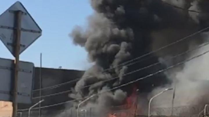 Под Ростовом потушили пожар в исправительной колонии №15