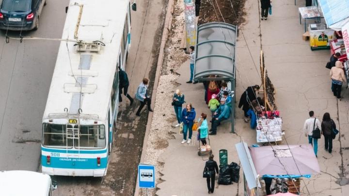 В Самаре троллейбус №16 запустят по новому маршруту после Нового года