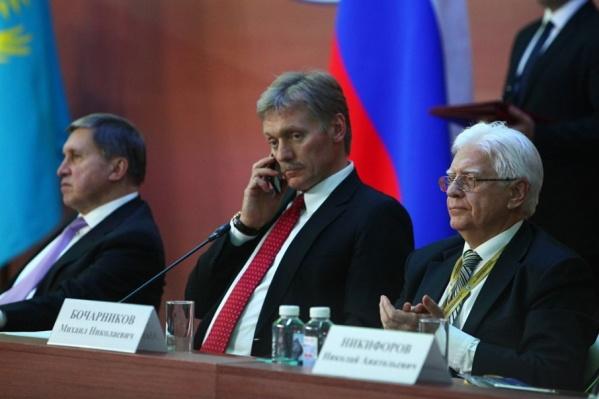 Дмитрий Песков подтвердил, что Владимир Путин звонил челябинцам из самолёта