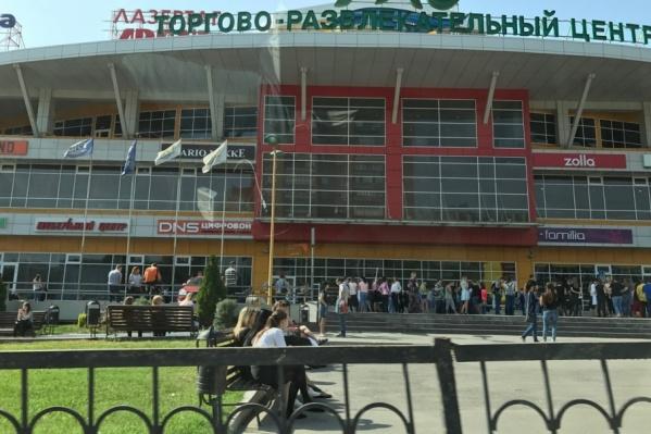 Торговый центр «Рио» эвакуировали одним из первых