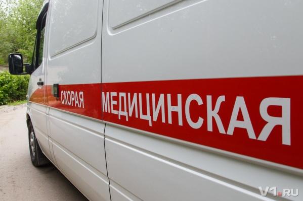 Ребенка с ушибами и травмами доставили в районную больницу
