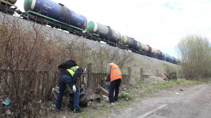 В столице Поморья ликвидировали две свалки мусора