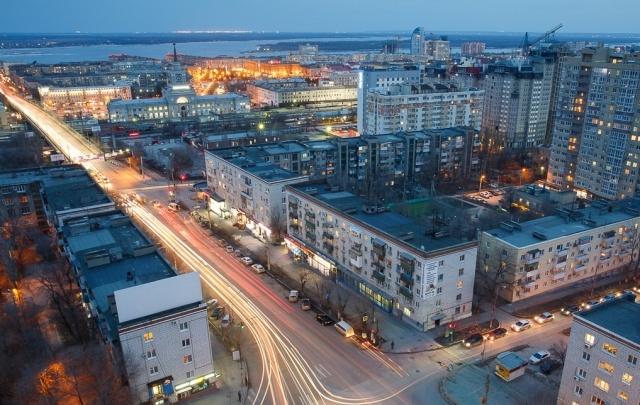 Волгоград – серо-сине-коричневый город