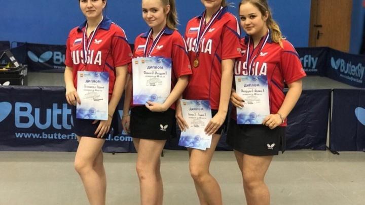 Теннисистки Поморья взяли серебряные медали на чемпионате СЗФО