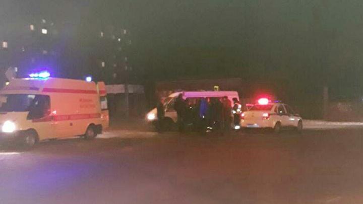 Во Фрунзенском районе УАЗ сбил женщину на переходе