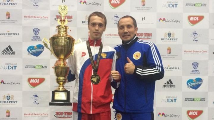 Южноуральские кикбоксёры завоевали полный комплект наград на чемпионате мира