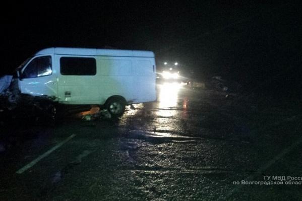 Авария произошла вчера вечером на самарской трассе