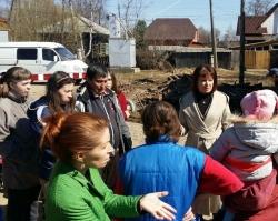 «Справедливая Россия» взяла на контроль проблему паводка в Кудымкаре