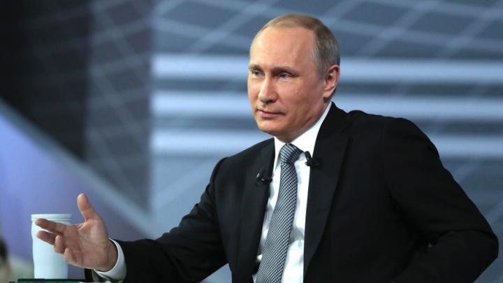 «Всё будет хорошо»: 74.ru провёл онлайн-трансляцию общения Владимира Путина с народом
