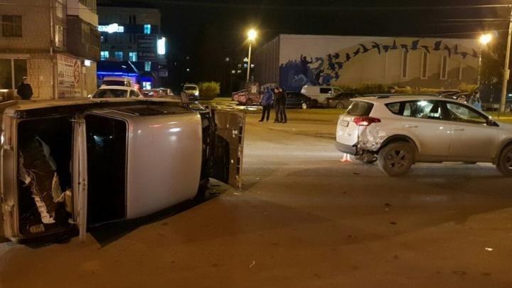 В Котласе водитель «шестерки» получил скальпированную рану в ДТП