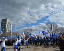 Единороссы отметили День космонавтики